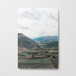 Amnesia- Coronet Peak New Zealand Metal Print