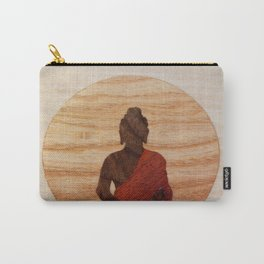 Buddha marquetry Carry-All Pouch