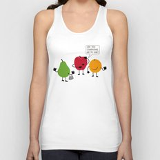Like Apples and Oranges Unisex Tank Top