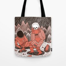 Death in Space Tote Bag
