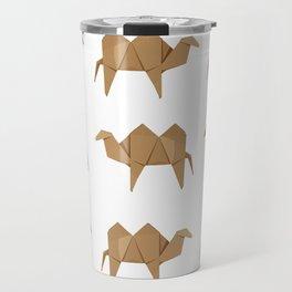 Origami Camel Travel Mug