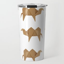 Origami Camel Travel Mug