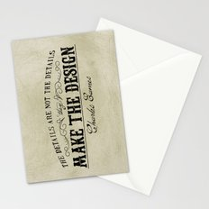 The Details are not the Details Stationery Cards