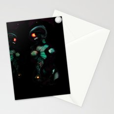 Cyber entities Stationery Cards