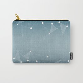 Abstract Background 12 Carry-All Pouch