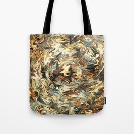 Brown Galaxy Tote Bag