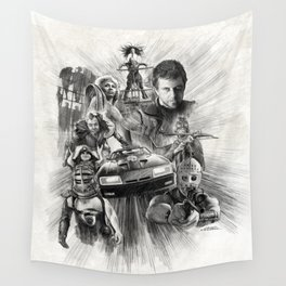 Homage to Mad Max Wall Tapestry