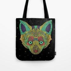 Intergalactic Fox Tote Bag