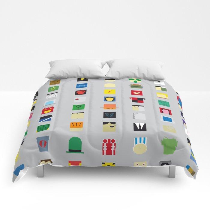 Minimalism Villains Comforters