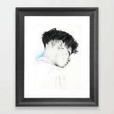 A Million Little Pieces. Framed Art Print