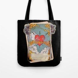 Halsey Heart Tarot card Tote Bag