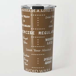 Secrets to a Long Life Travel Mug