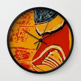 Kickin' it Wall Clock