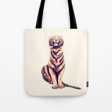 Zen Tiger  Tote Bag