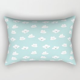 CLOUD DOODLES Rectangular Pillow