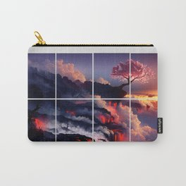 The Earth Cherry Blossom Carry-All Pouch