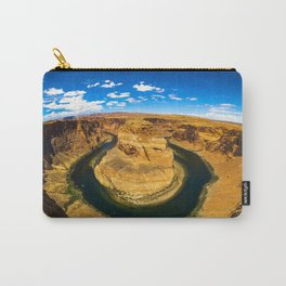 Best Photo of Horseshoe Bend in Page, Arizona Carry-All Pouch
