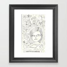 Why Be Cruel? Framed Art Print