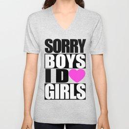 SORRY BOYS II Unisex V-Neck