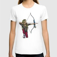 archer T-shirts featuring Archer by Natalie Easton