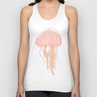 jellyfish Tank Tops featuring Jellyfish by Doucette Designs