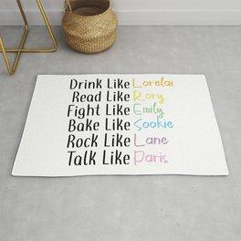 Drink Like... Rug