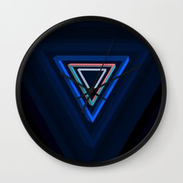 Impossible triangles series. Wall Clock