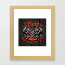 T-Birds Sign Framed Art Print