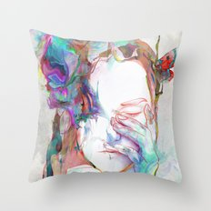 Falling In Throw Pillow