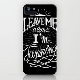 Tanning iPhone Case