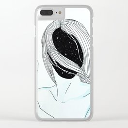 They Stumble Blindly Clear iPhone Case