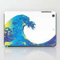 hokusai iPad Cases featuring Hokusai Rainbow_B by FACTORIE