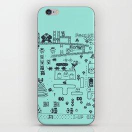 Retro Arcade Mash Up iPhone Skin