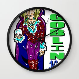 """""""You Remind me of the babe..."""", Bowie WAS the Goblin King! Jim Henson's Labyrinth with David Bowie Wall Clock"""
