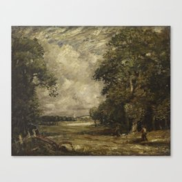 English-landscape by David Thomson Muirhead Canvas Print
