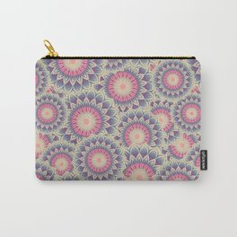 Mandala 390 (Floral) Carry-All Pouch