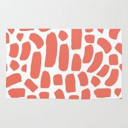 Brush strokes pattern #16 Rug