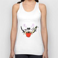 cheshire cat Tank Tops featuring Cheshire by Jorge Daszkal