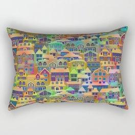 Fairytale City #2 Rectangular Pillow