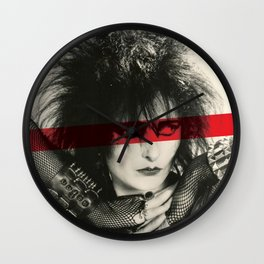 Siouxsie Sioux Wall Clock