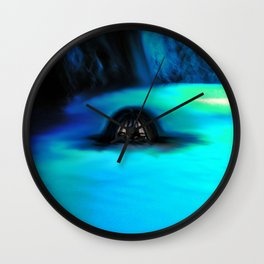 Cave has eyes Wall Clock