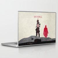 skyfall Laptop & iPad Skins featuring Skyfall by Geminianum