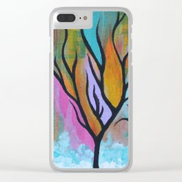 the forests Clear iPhone Case