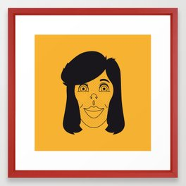 Susan Framed Art Print