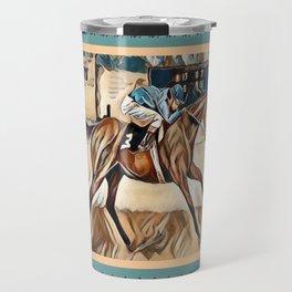 """Racehorse Fantasy"" Travel Mug"