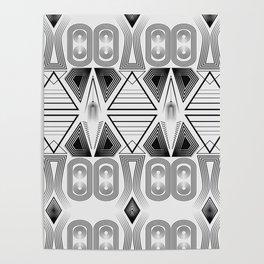 "Art Deco. ""Black and light gray"" 28 . Poster"