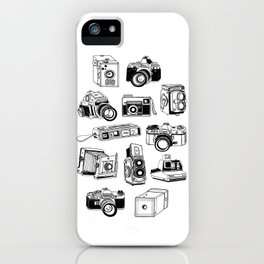 Film Photography Cameras  iPhone Case