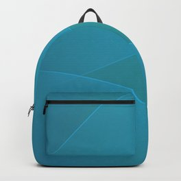 Jelly Bean & Eastern Blue Colors Backpack