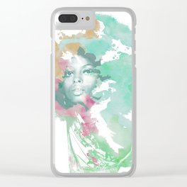 Afro Clear iPhone Case