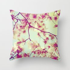 SWEET NOTHINGS Throw Pillow